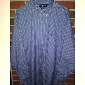 Polo by Ralph Lauren men's XL button down shirt.